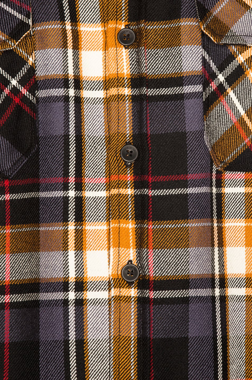 a47488ae8a Image 5 of Fear of God Denim Collared Oversized Flannel in Purple Plaid