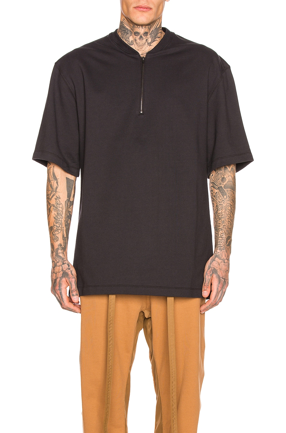 Fear Of God Accessories Half Zip Tee