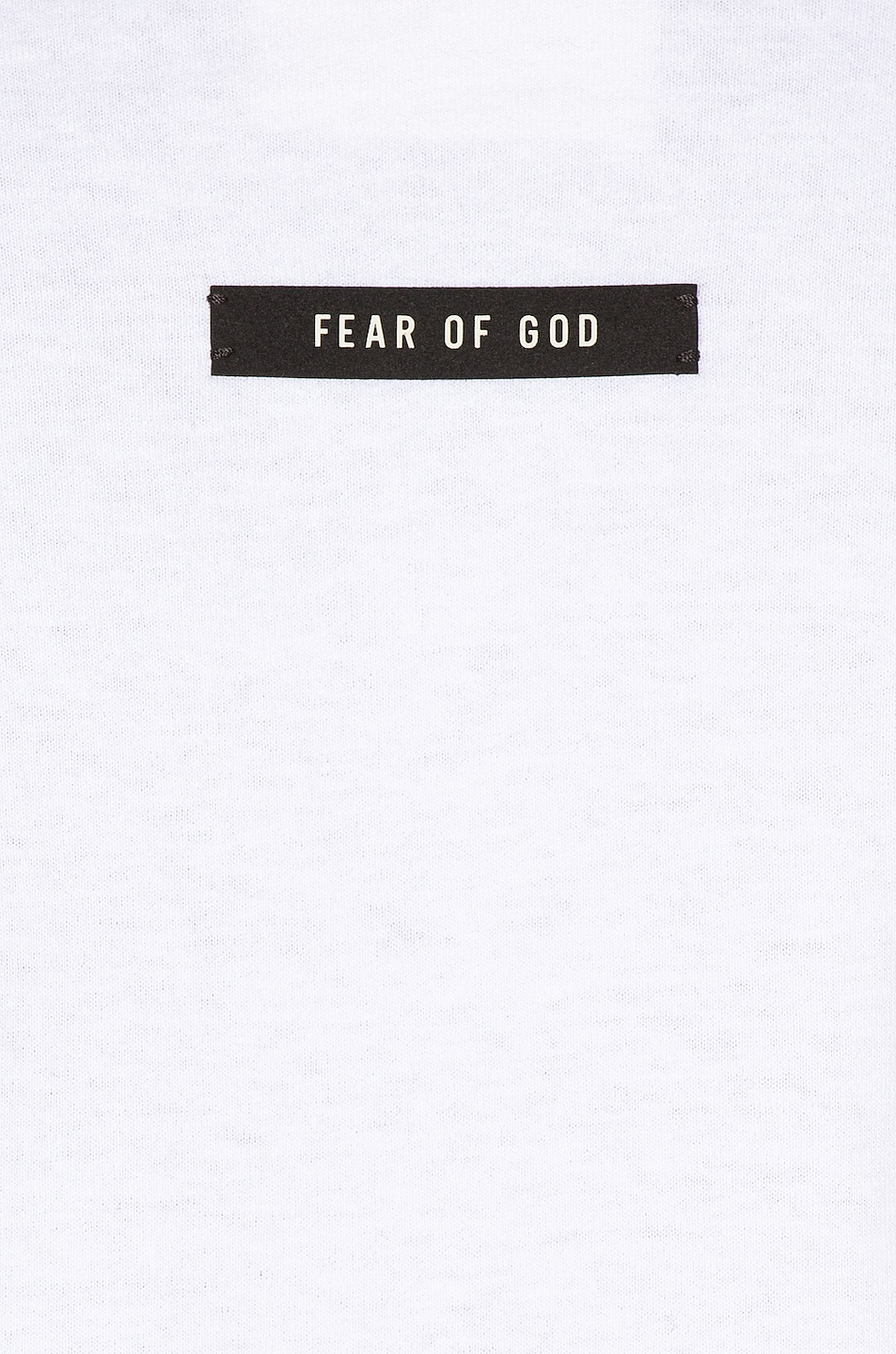 Image 5 of Fear of God Long Sleeve FG Tee in White