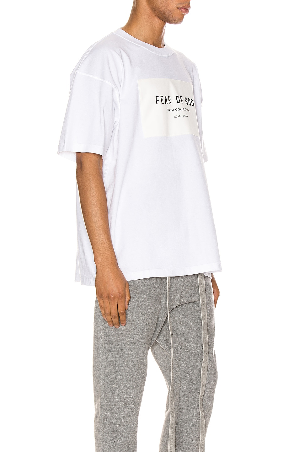 Image 2 of Fear of God 6th Collection Tee in White