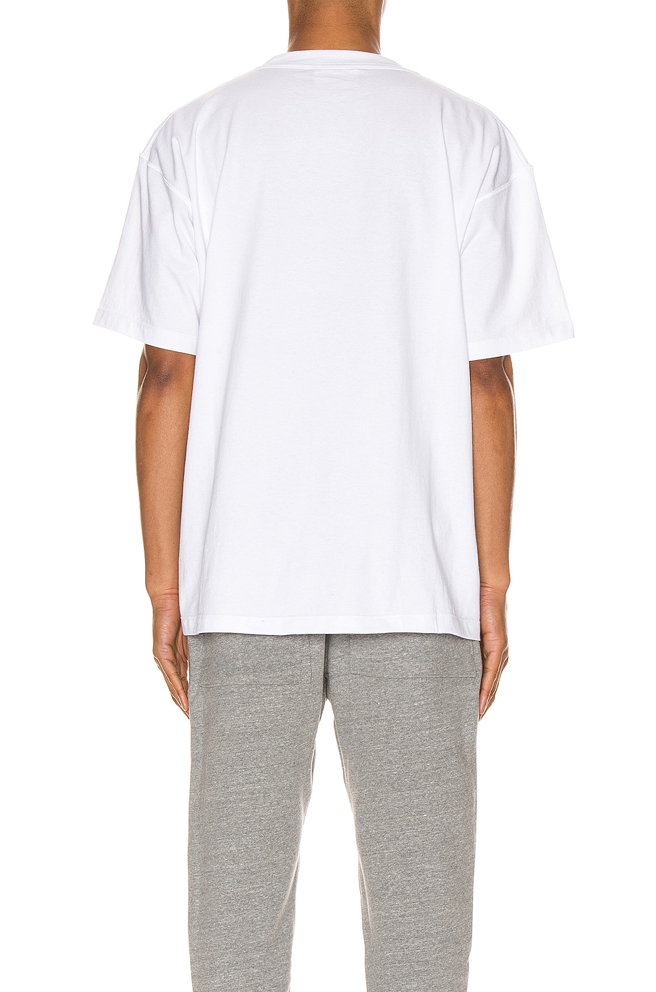 Image 3 of Fear of God 6th Collection Tee in White
