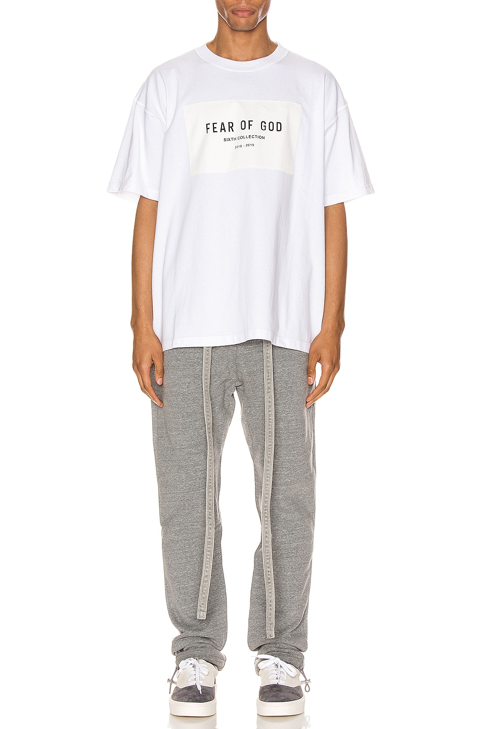 Image 4 of Fear of God 6th Collection Tee in White