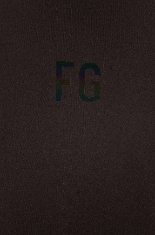 Image 6 of Fear of God Short Sleeve FG 3M Tee in Vintage Black