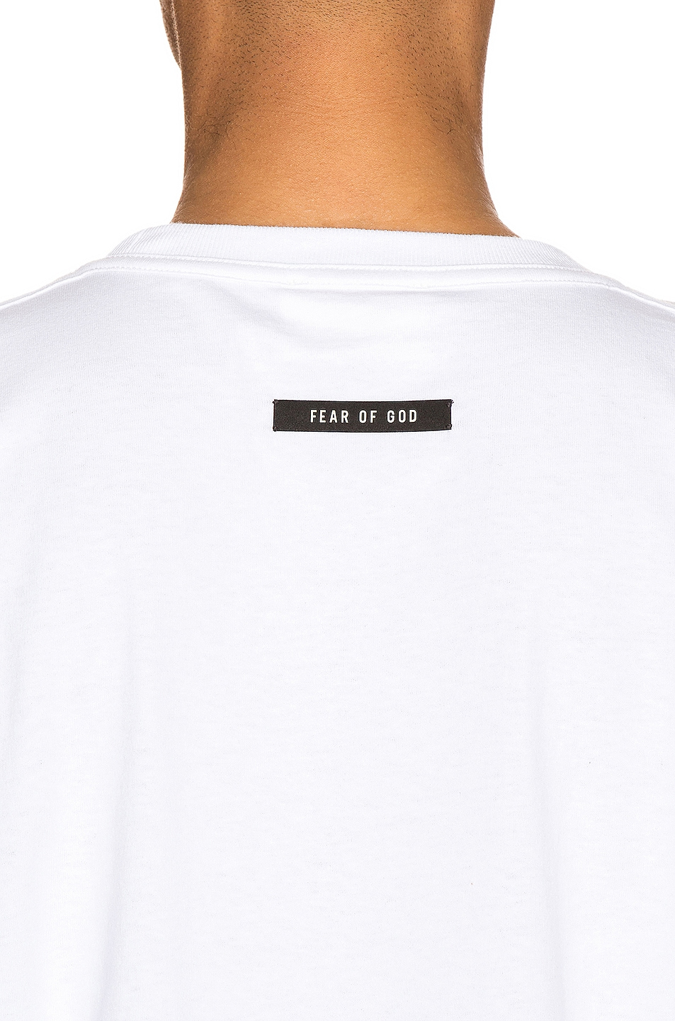 Image 5 of Fear of God Short Sleeve FG 3M Tee in White