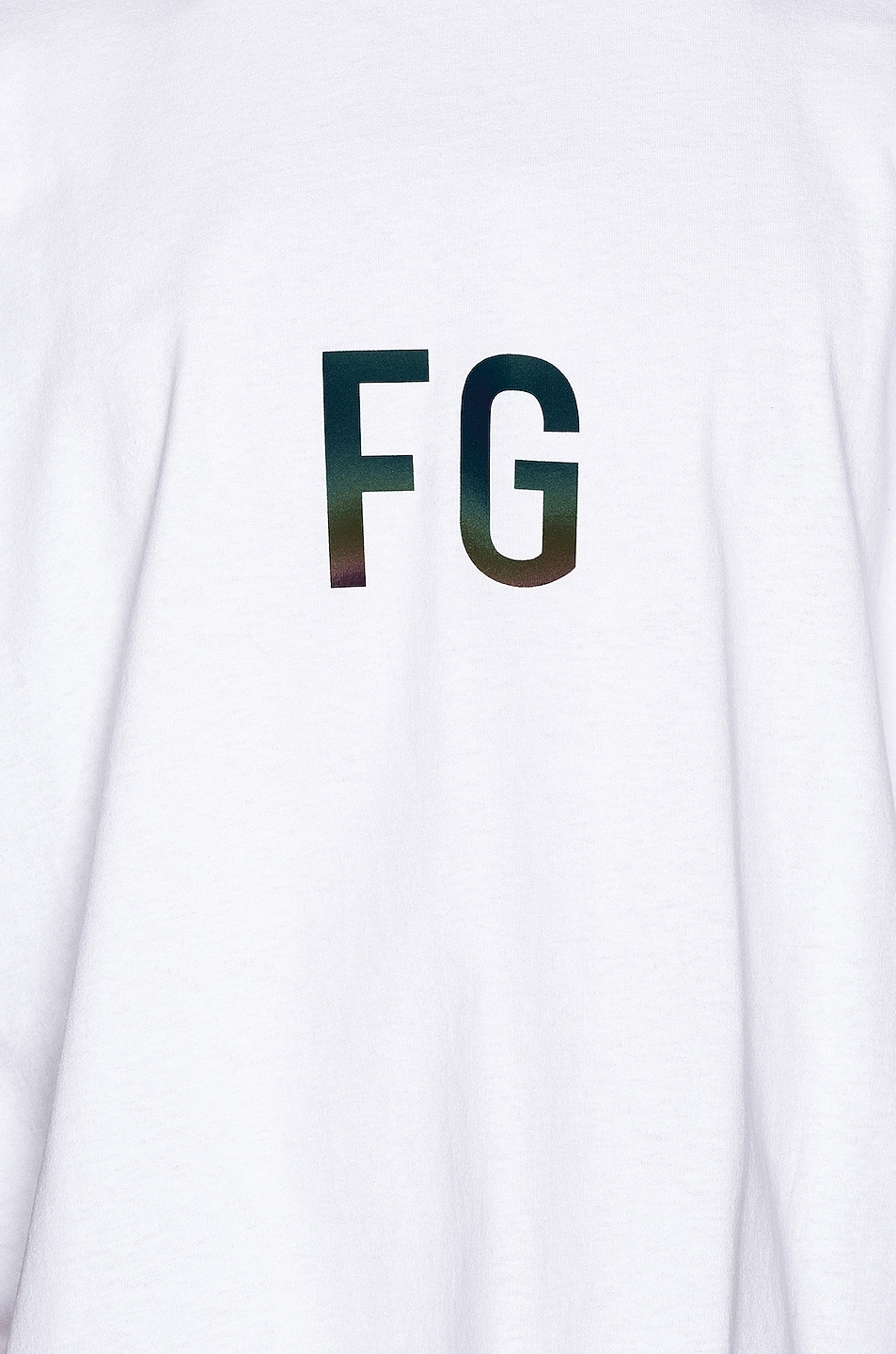 Image 6 of Fear of God Short Sleeve FG 3M Tee in White