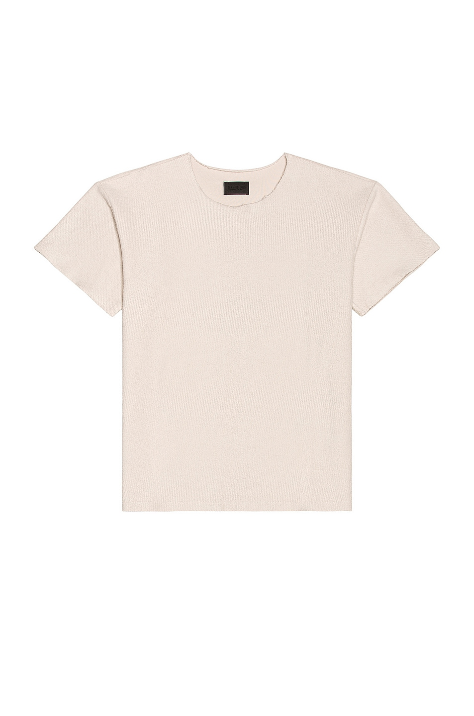Image 1 of Fear of God Inside Out Terry Tee in Concrete White
