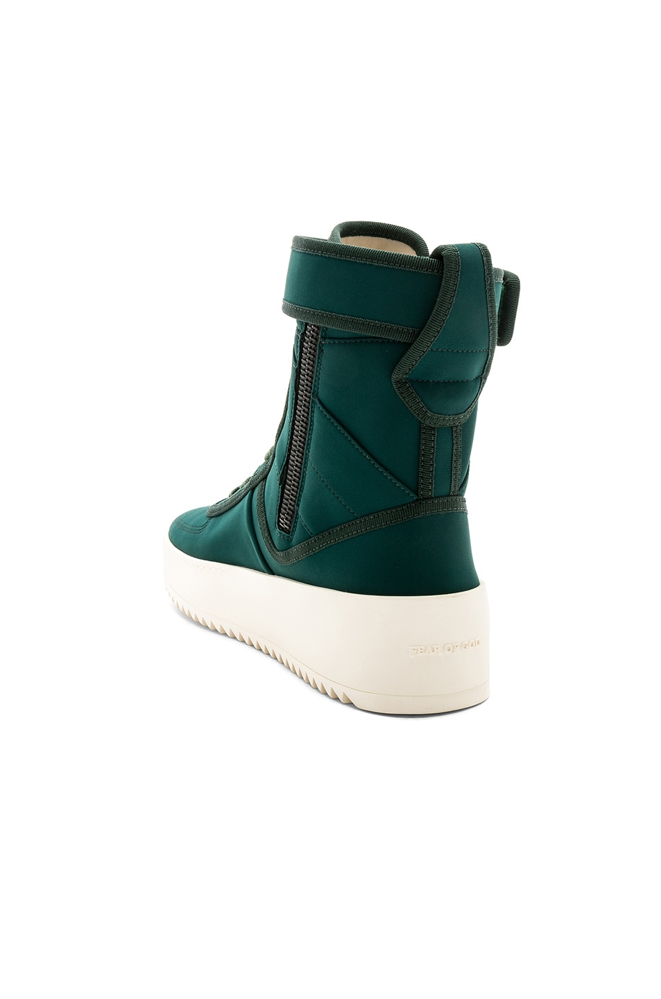 Military Nylon High-top Sneakers - Bright blueFear of God kFQvOggiS7