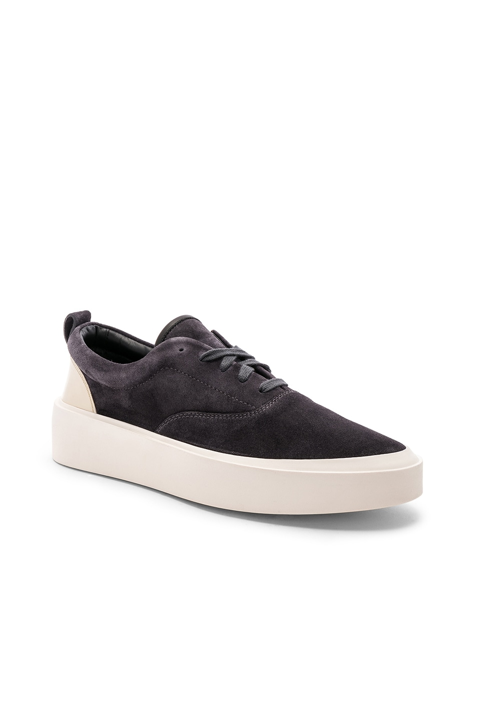 Image 1 of Fear of God Suede 101 Lace Up in Vintage Black