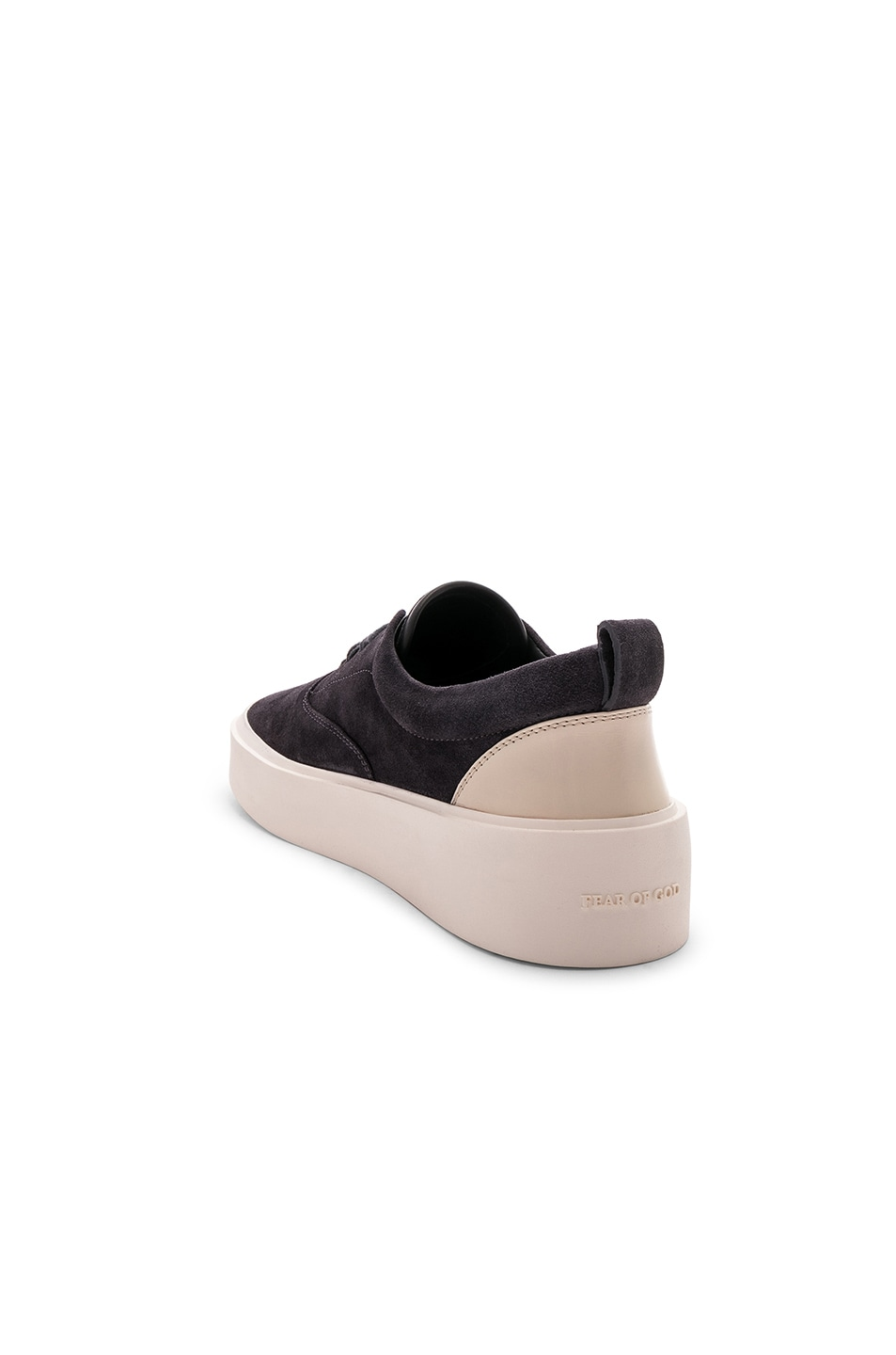 Image 3 of Fear of God Suede 101 Lace Up in Vintage Black