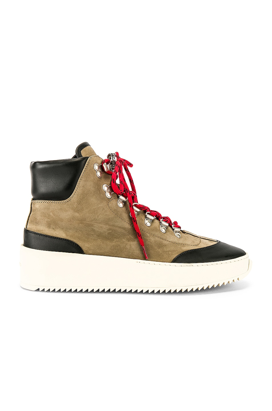 Image 2 of Fear of God 6th Collection Hiker in Oliver & Black