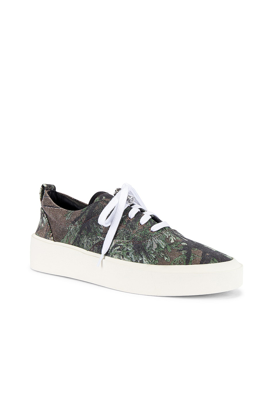 Image 1 of Fear of God 101 Lace Up Sneaker in Dark Prairie Ghost Camo