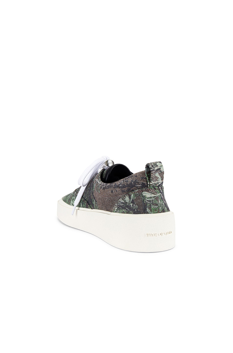 Image 3 of Fear of God 101 Lace Up Sneaker in Dark Prairie Ghost Camo
