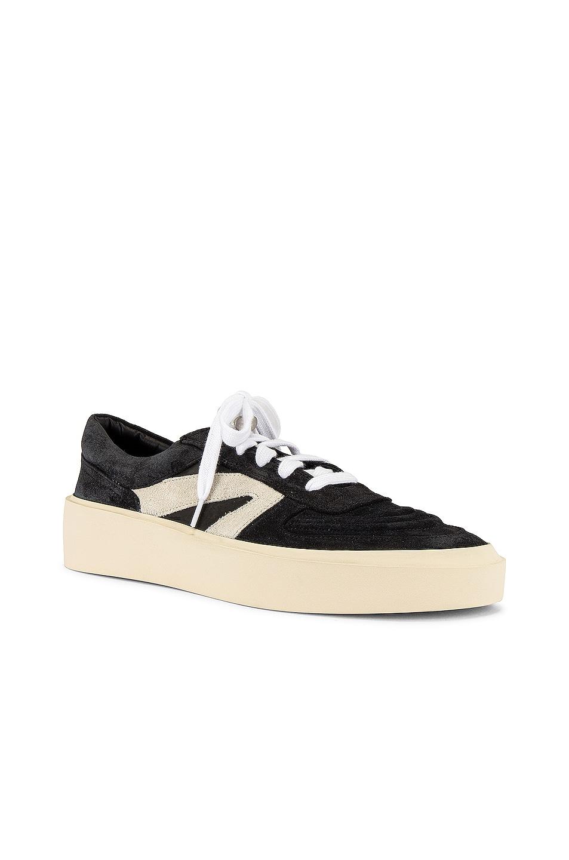 Image 1 of Fear of God Skate Low Top Sneaker in Black & Grey