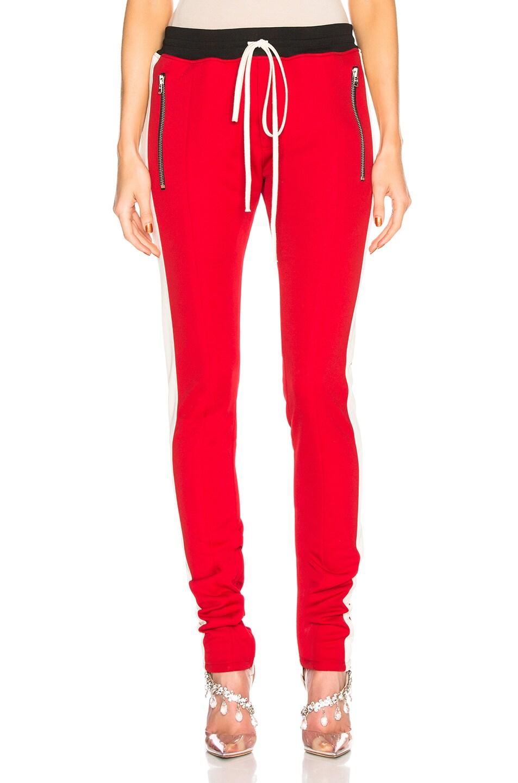 Fear of God Track Pant in Red & Cream Stripe | FWRD
