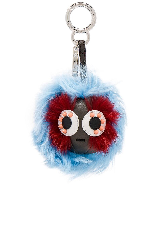 mini Bag Bugs charm - Blue Fendi hcmK8