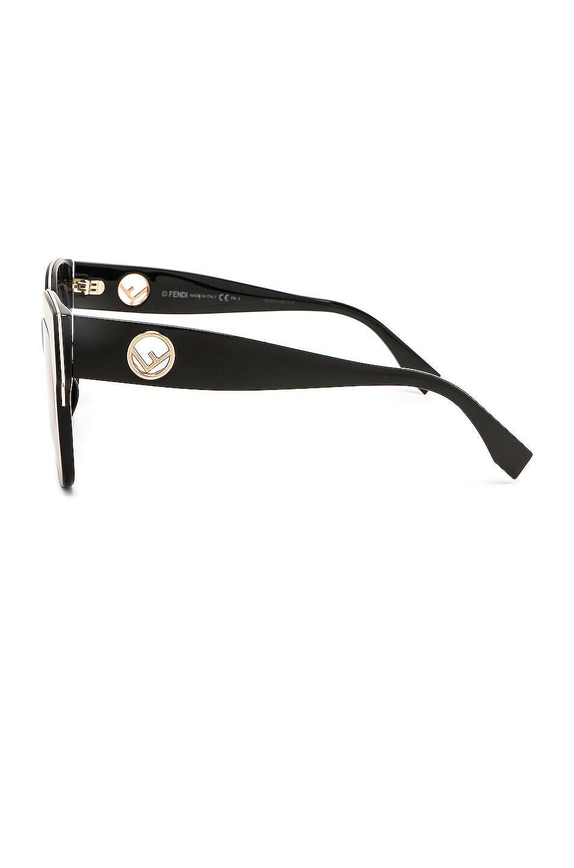 Image 3 of Fendi Square Sunglasses in Black
