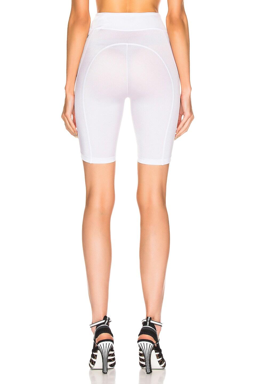 Image 3 of Fendi FFreedom Biker Short in White