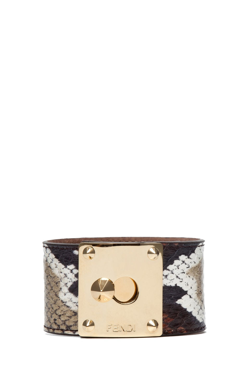 Image 1 of Fendi Cuff in Cream