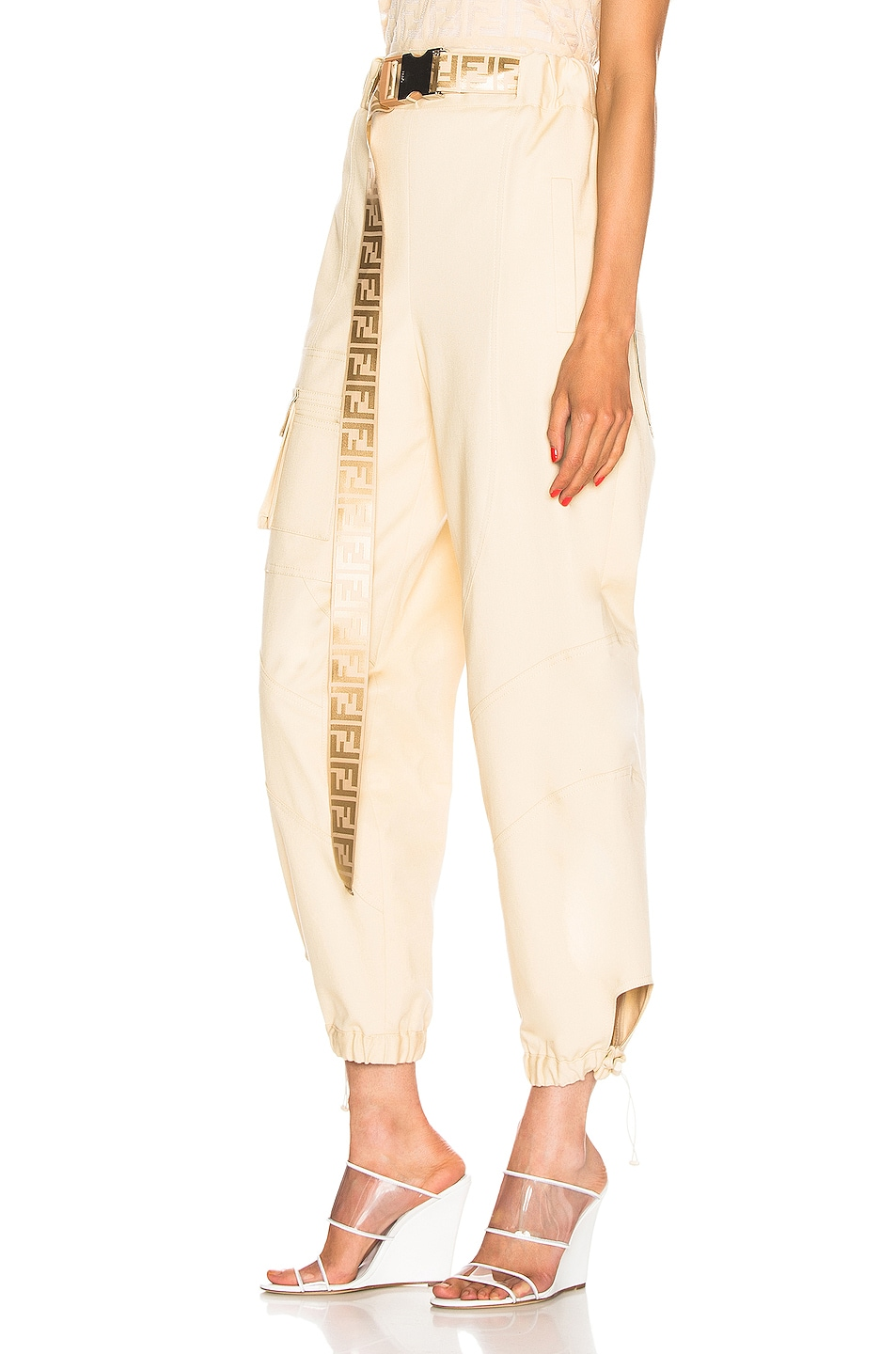 Image 3 of Fendi Cargo Pant in Guava