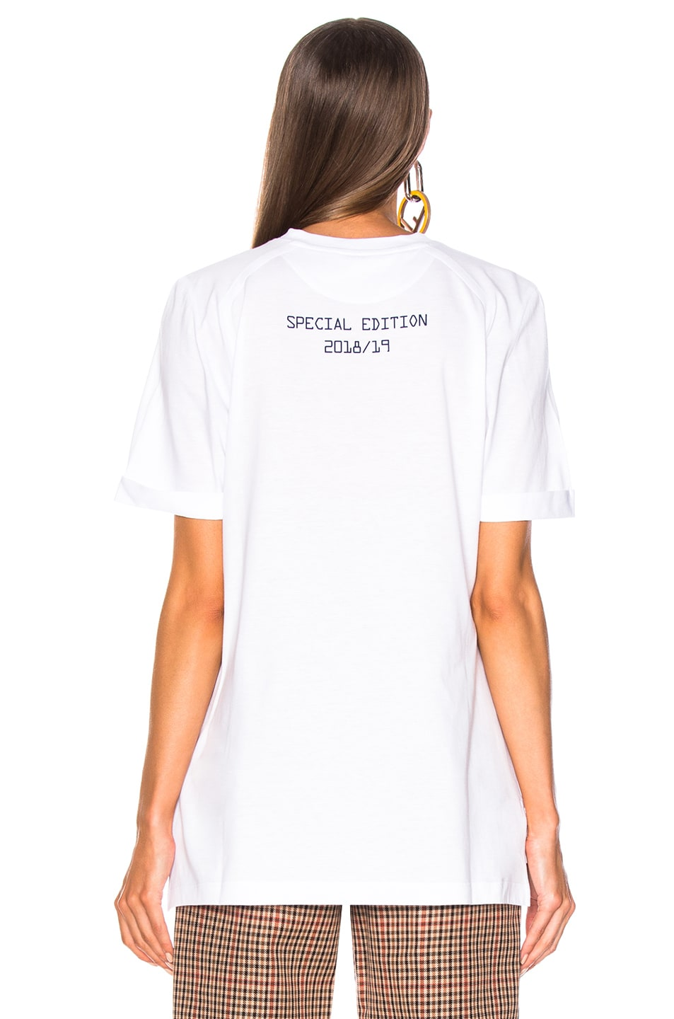 Image 4 of Fendi Fendi Mania Logo Tee in White