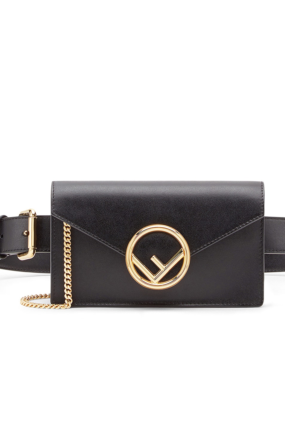 Image 1 of Fendi Hip Belt in Black
