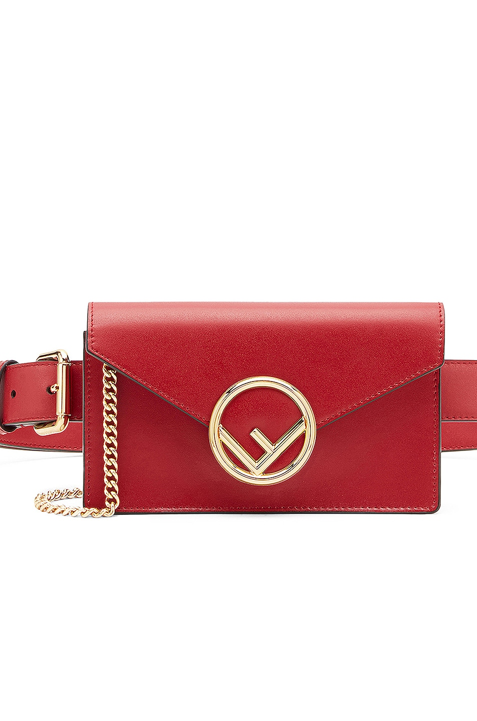 Image 1 of Fendi Hip Belt in Red