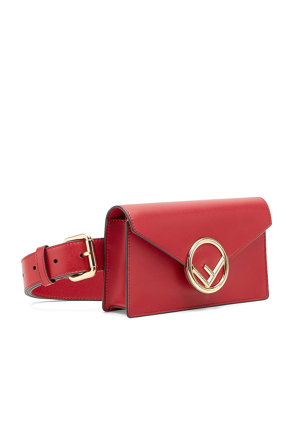 Image 4 of Fendi Hip Belt in Red