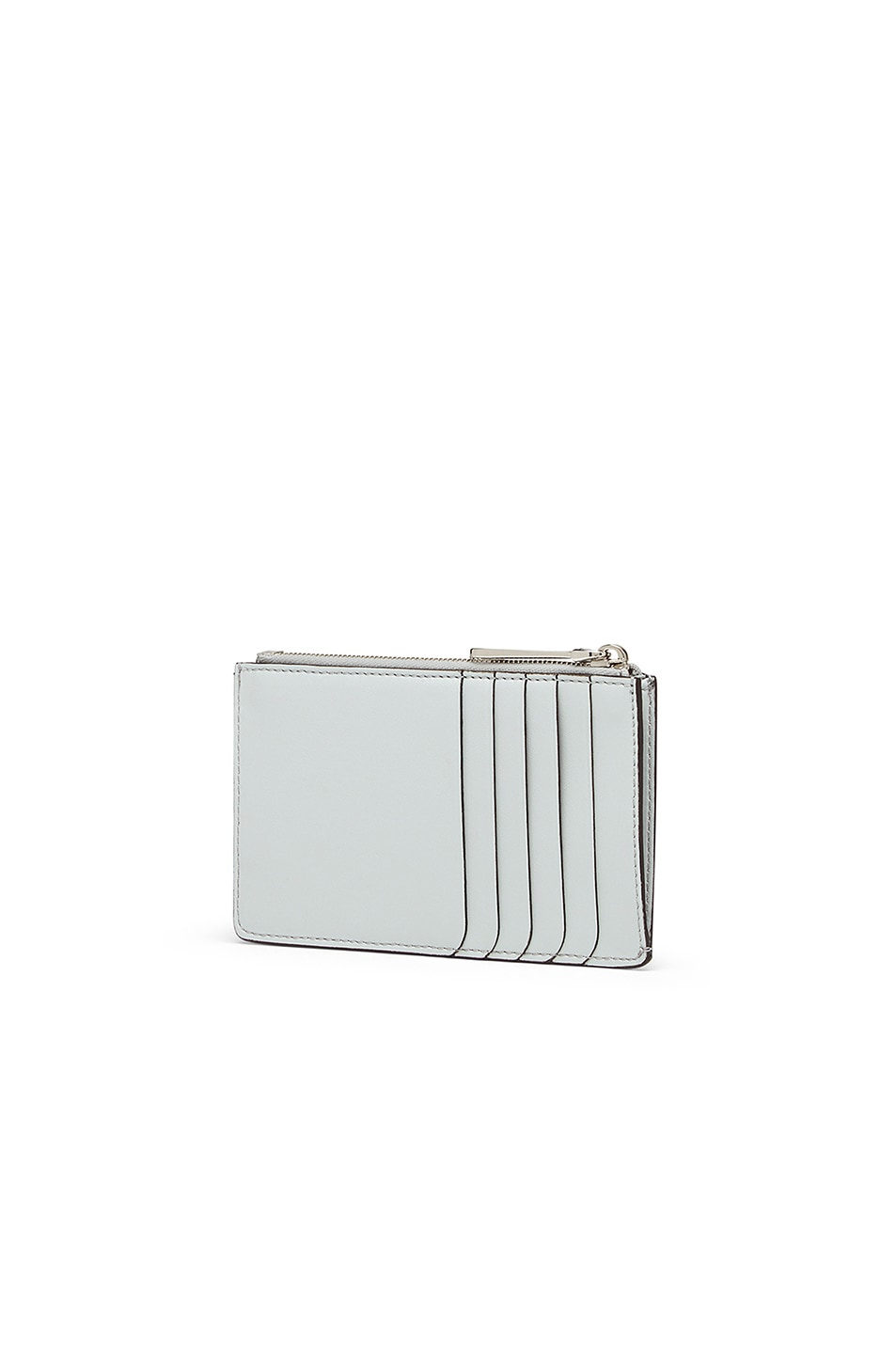 Image 2 of Fendi Zip Card Case in Pearl Grey
