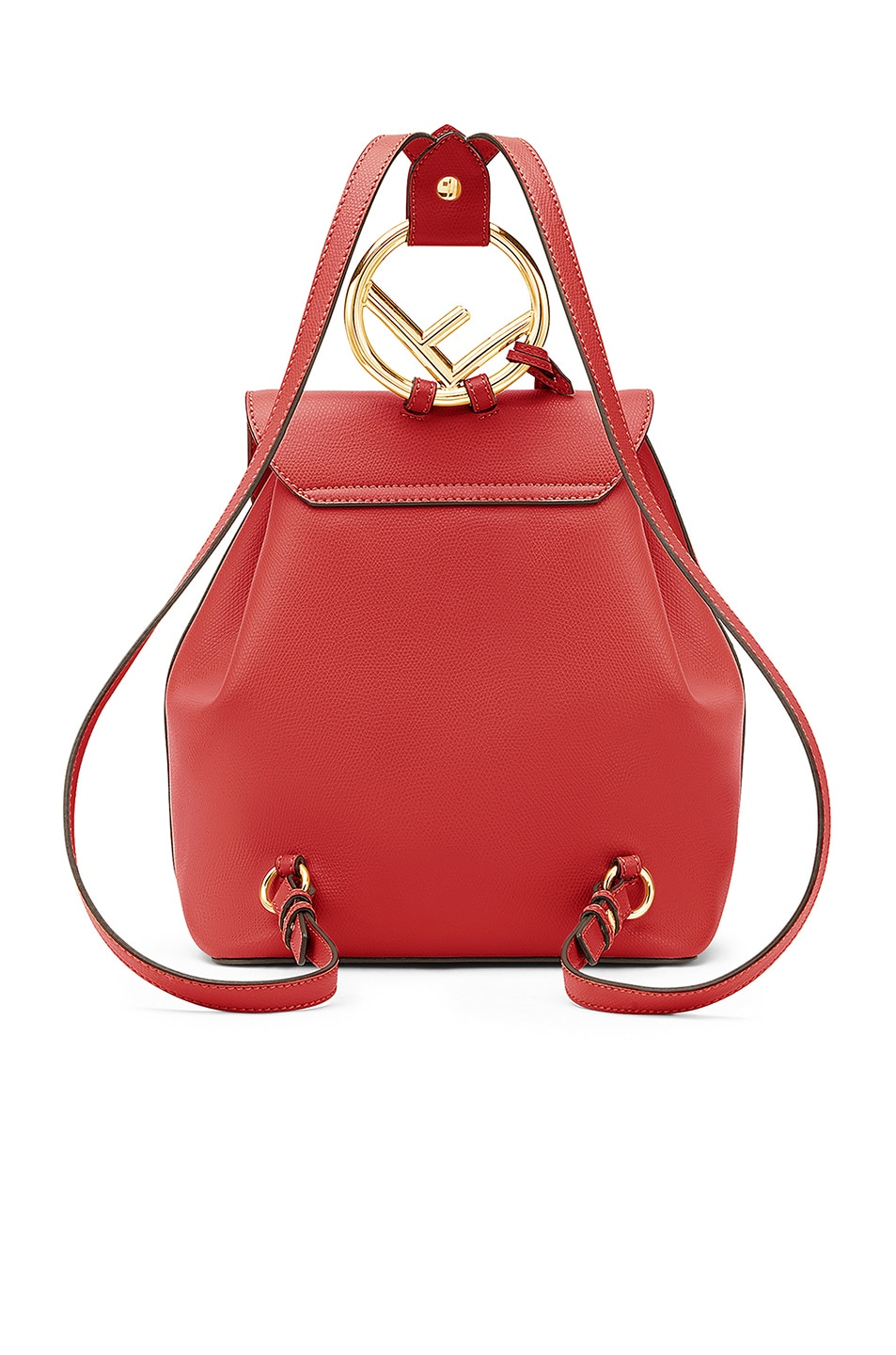 Image 3 of Fendi Backpack in Red
