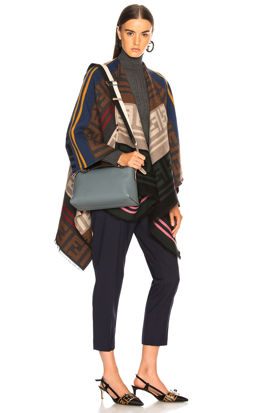 Image 2 of Fendi Medium By The Way in Storm & Dove