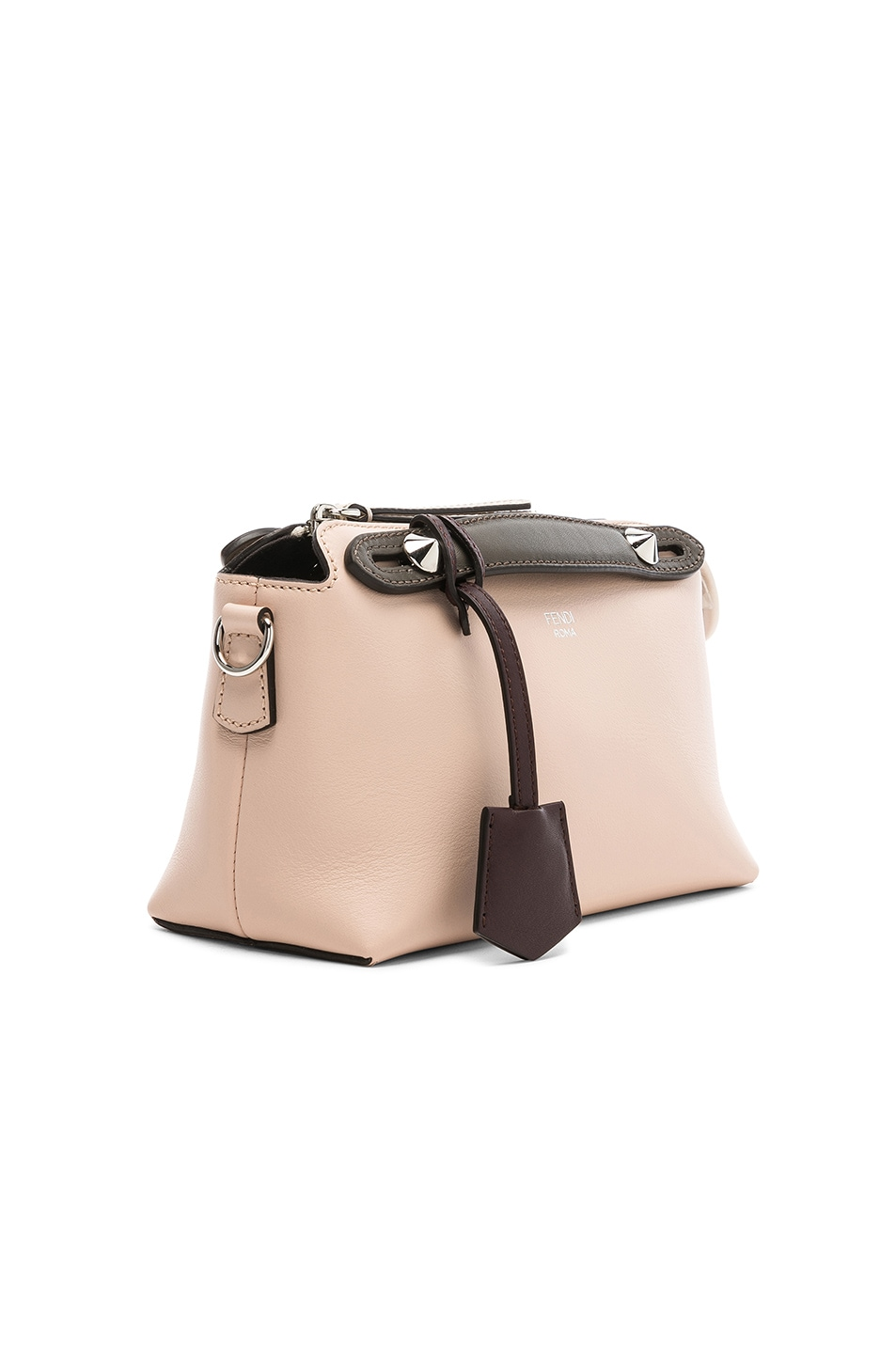 Image 4 of Fendi Mini By The Way in Pink & Black