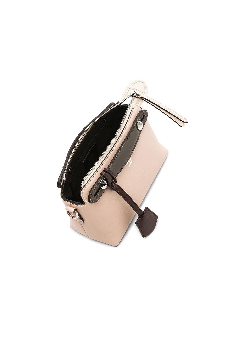 Image 5 of Fendi Mini By The Way in Pink & Black