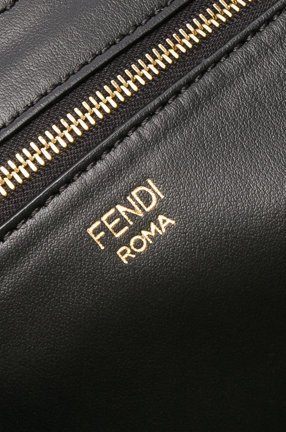 Image 6 of Fendi Fendi Mania Large Logo Tote in Brown & White