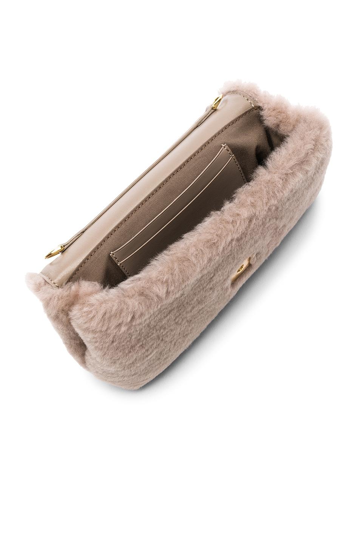 Image 5 of Fendi Shearling Hip Belt in Dove