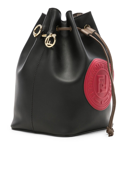 Image 4 of Fendi Logo Emblem Mon Tresor in Black & Strawberry