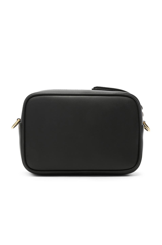 Image 3 of Fendi Mini Logo Embossed Camera Case in Black