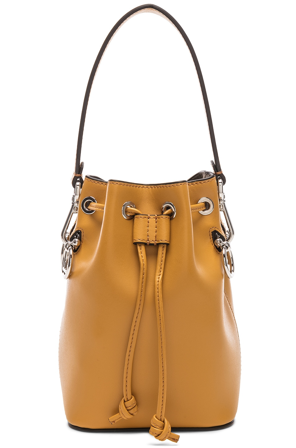 Image 1 of Fendi Mini Mon Tresor in Mustard