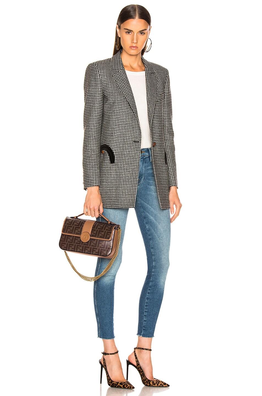 Image 2 of Fendi Double F Shoulder Bag in Tan
