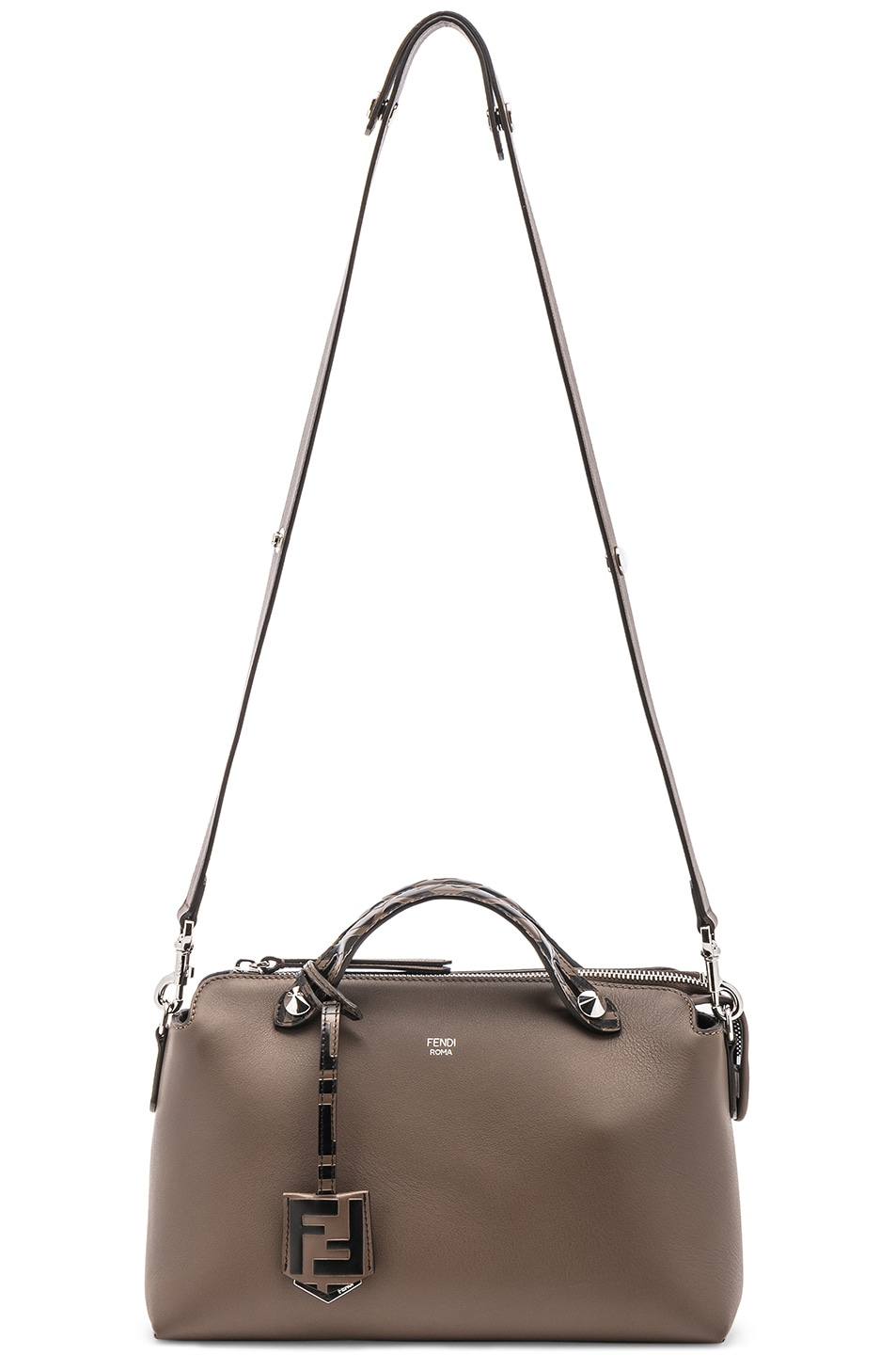 Image 6 of Fendi Medium Crossbody Bag in Chocolate