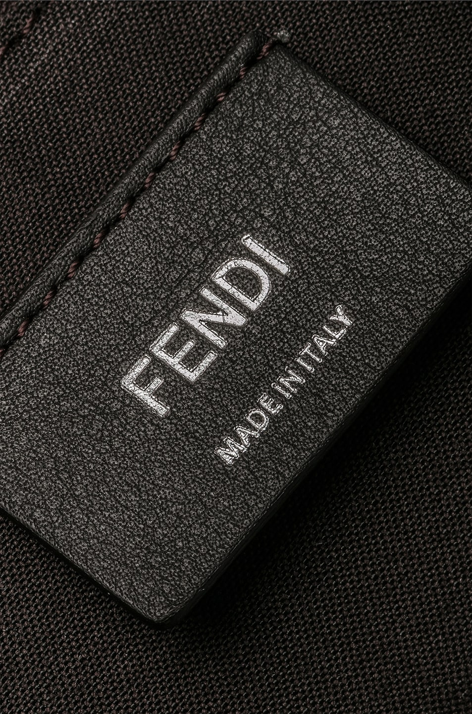 Image 7 of Fendi Medium Crossbody Bag in Chocolate