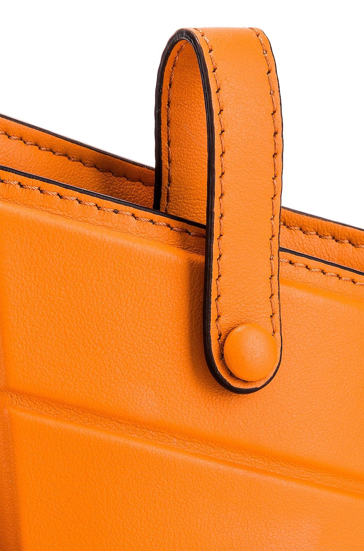 Image 8 of Fendi Mini Three Pocket Crossbody in Orange