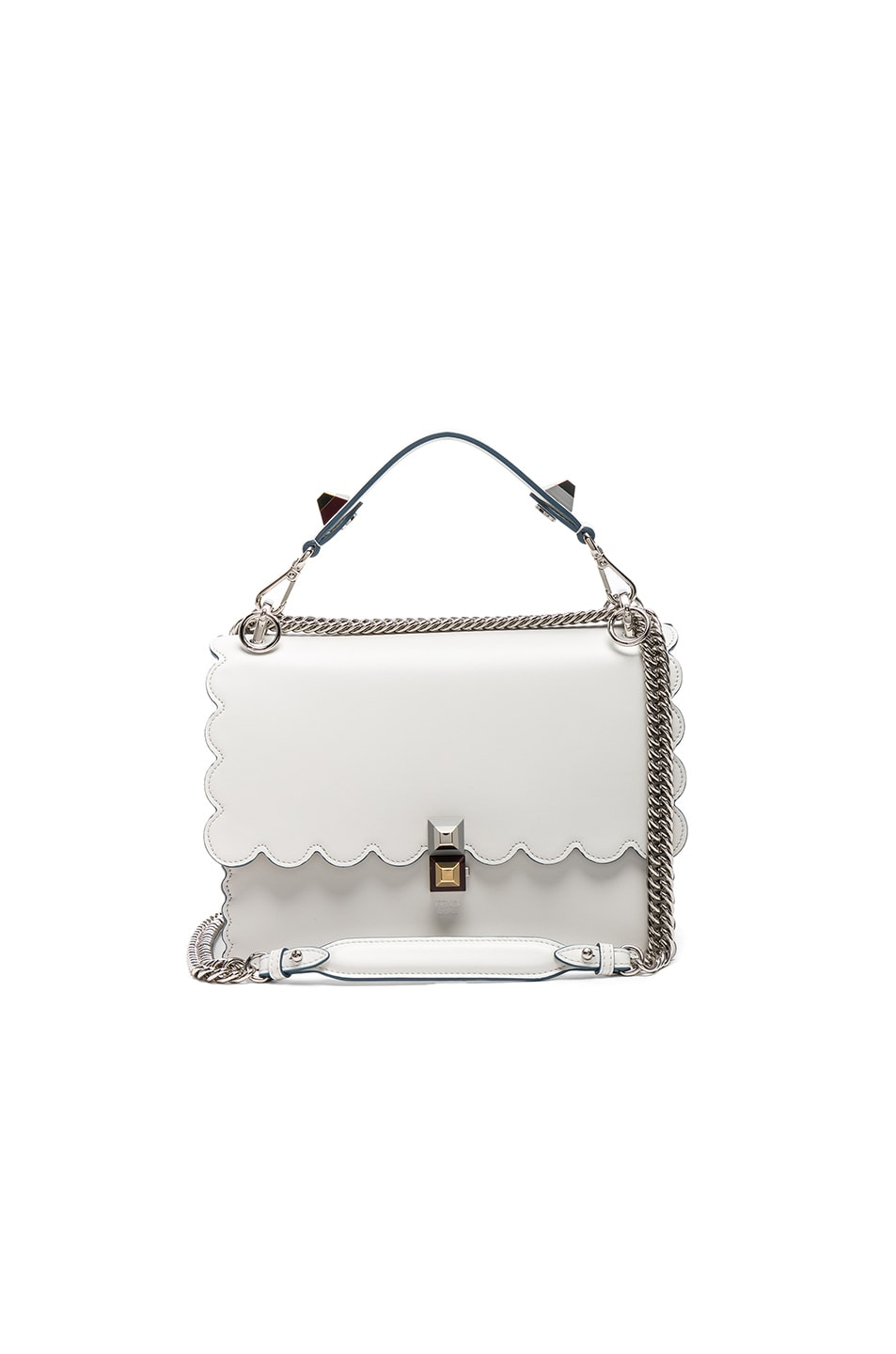 a8a9b34e Fendi Kan I in White | FWRD