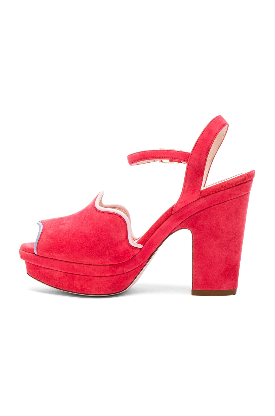 ankle strap sandals - Red Fendi Clearance Store Sale Online grcg7