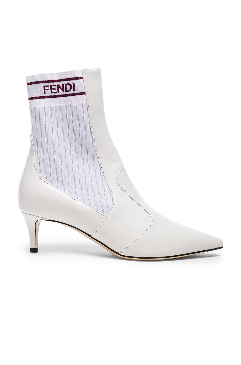 Rockoko boots - White Fendi Clearance Footaction V6eFrD