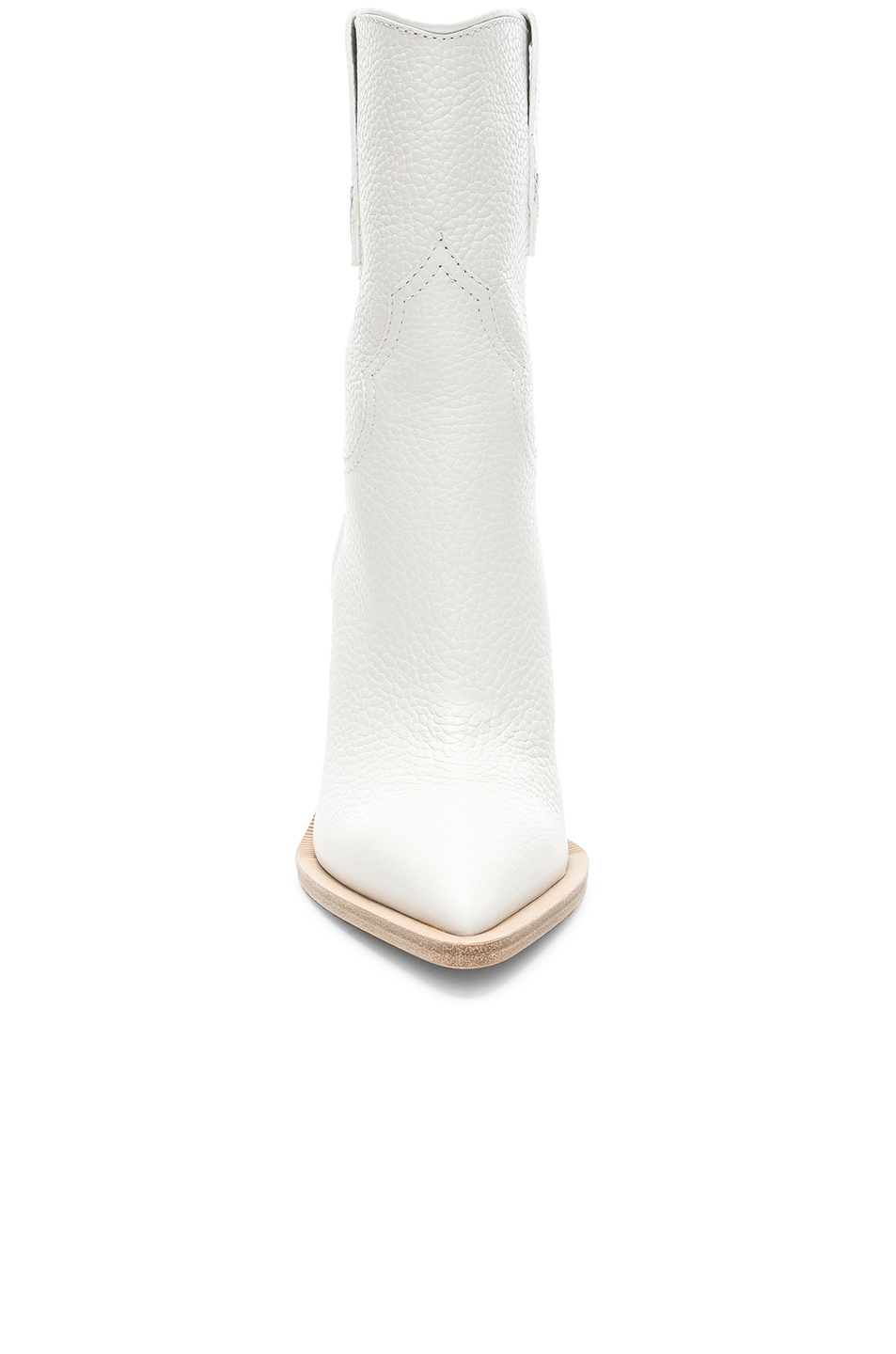Image 4 of Fendi Cutwalk Western Boots in White