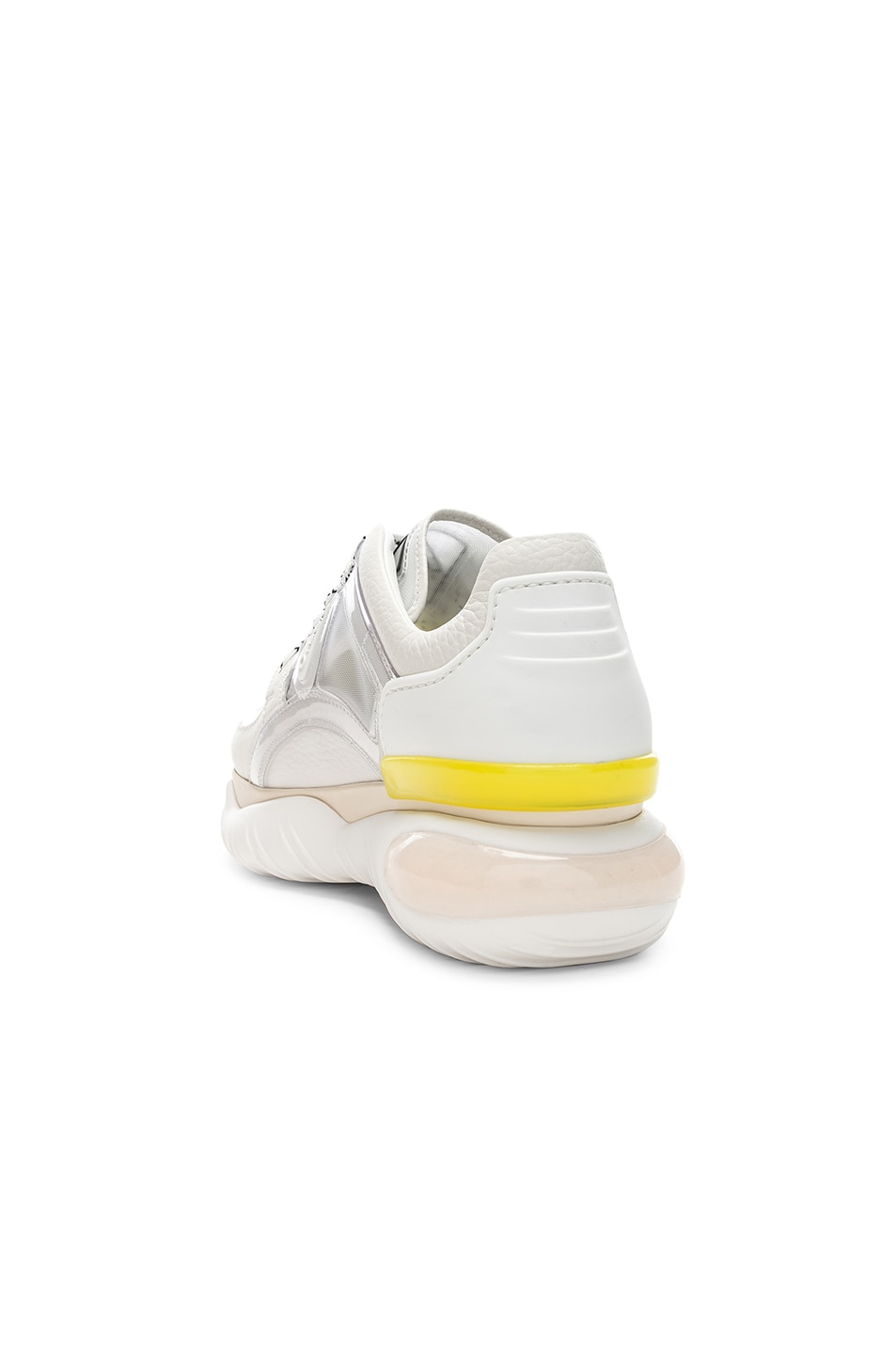 Image 3 of Fendi Platform Sneakers in White