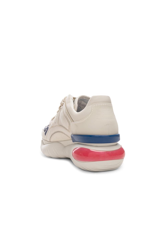 Image 4 of Fendi x FILA Logo Sneakers in White