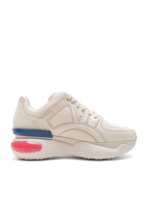 Image 7 of Fendi x FILA Logo Sneakers in White