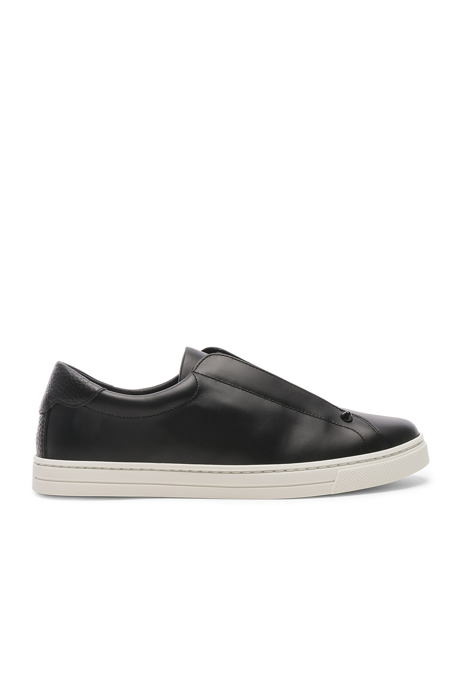 Image 2 of Fendi Rockoclick Sneakers in Black