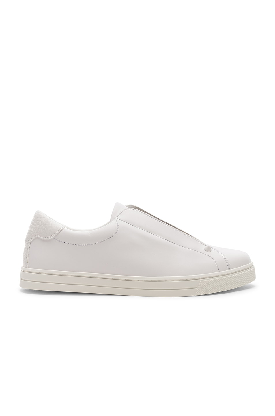 Image 2 of Fendi Rockoclick Sneakers in White